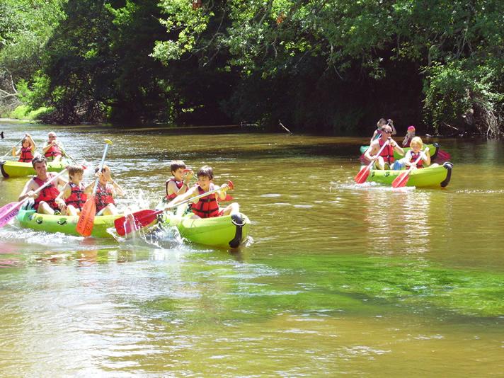 décente en kayak sur la Leyre